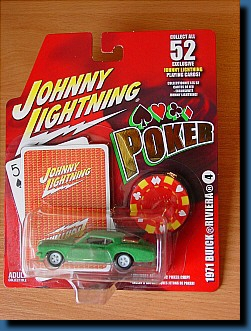 Johnny Lightning 1971 (Poker) Buick Riviera 1:64