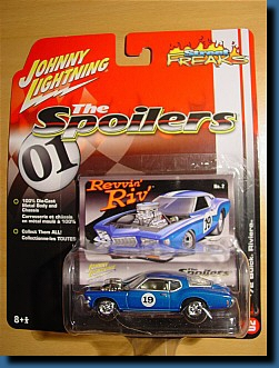 Johnny Lightning 1972 (Spoilers) Buick Riviera 1:64