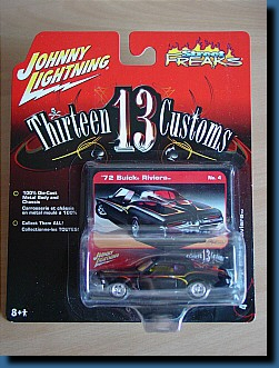 Johnny Lightning 1972 (Thirteen Customs) Buick Riviera 1:64