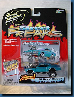 Johnny Lightning 1972 (Street Freaks) Buick Riviera 1:64