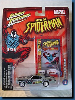 Johnny Lightning 1972 (Spiderman) Buick Riviera 1:64